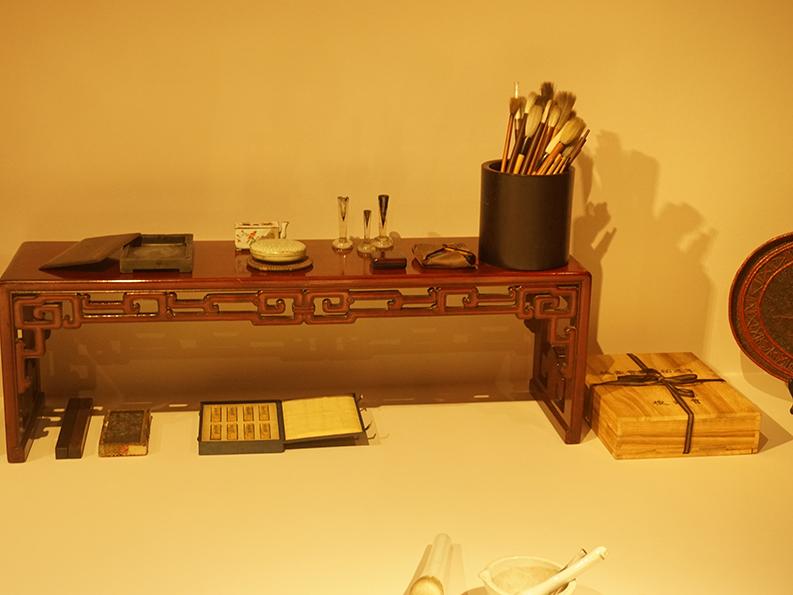 sumi-e tools