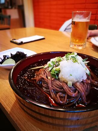 Seoul food memil guksu