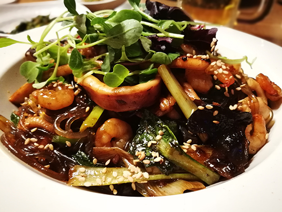 Seoul food japchae