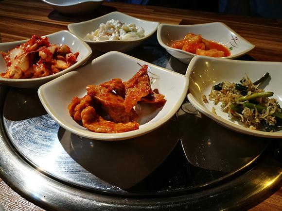 Seoul food banchan