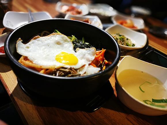 Seoul food bibimbap
