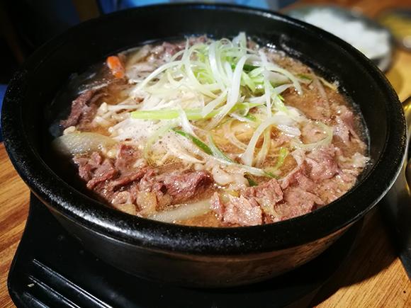 Seoul food bulgogi