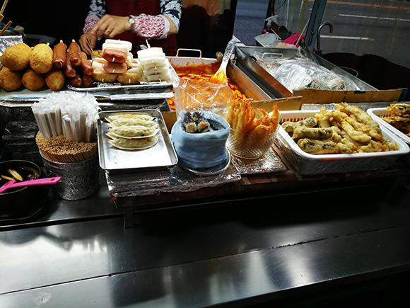 Seoul food street food