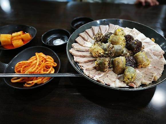 Seoul food sundae